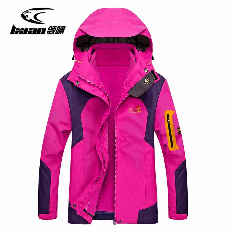 be3a63393 LXIAO Ladies Autumn Winter Jacket Waterproof Outdoor Sports Warm  Wear-resistant Windproof Camping Trekking Skiing Female Jackets