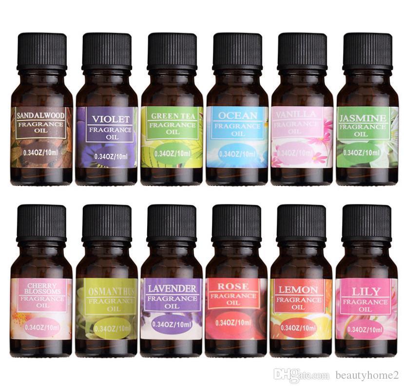 Oli Essenziali Per Diffusori.Oli Essenziali Da 10 Ml Per I Diffusori Di Aromaterapia Oli Essenziali Puri Alleviare Lo Stress Per Il Massaggio Del Corpo Biologico Rilassati La Cura