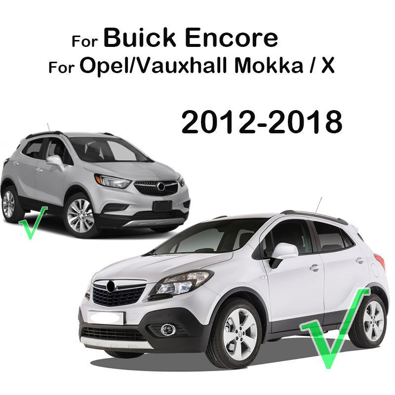 Chrome Steering Wheel Switch Button Panel Trim Cover Badge Insert For Buick Encore Opel/Vauxhall Mokka X 2012 - 2016 2017 2018