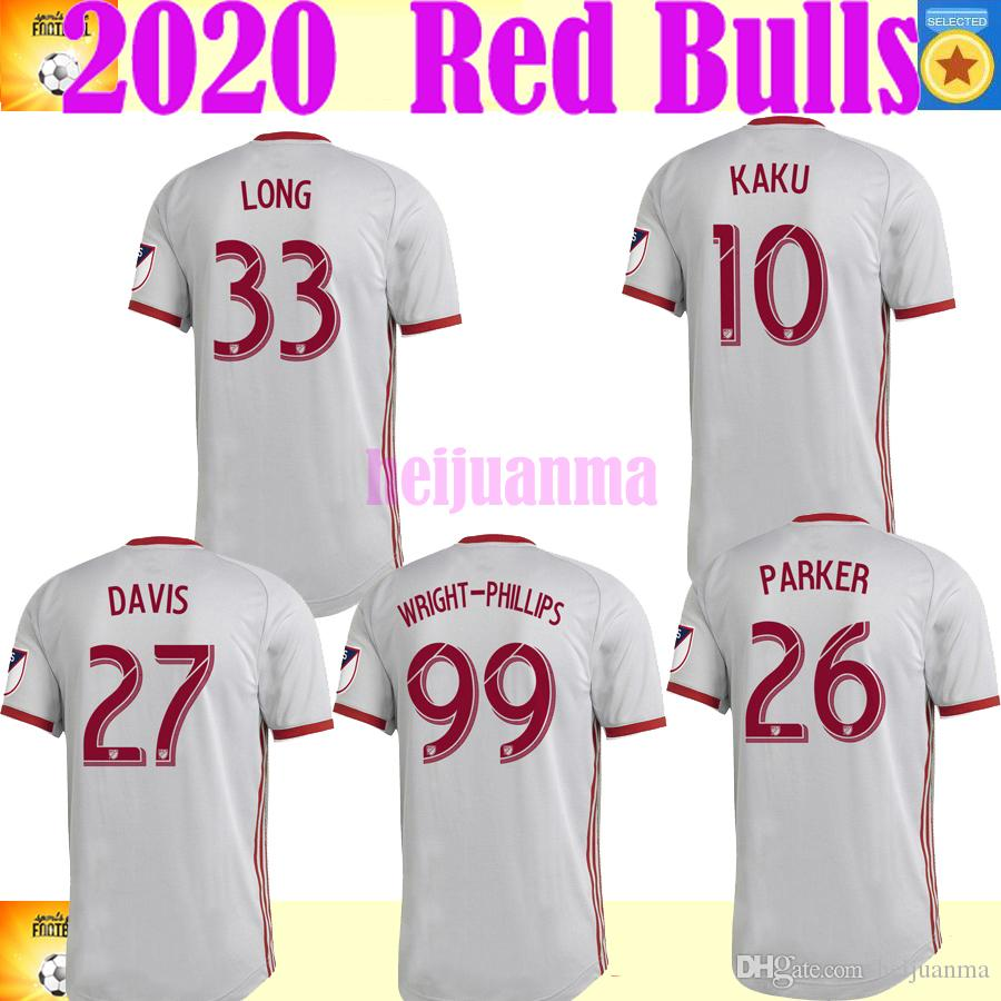 2019 2019 Mls New York Red Bulls Maillots De Football 10 Kaku 26