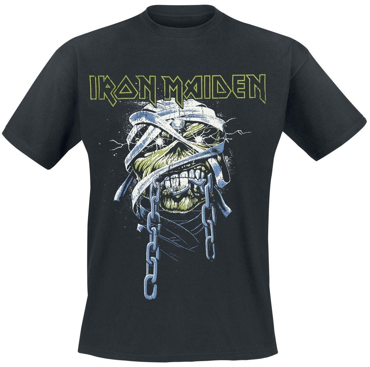 af107043d Iron Maiden Powerslave Head T Shirt Black Cool Shirts Online All Shirts  From Besttshirts201805, $10.66| DHgate.Com