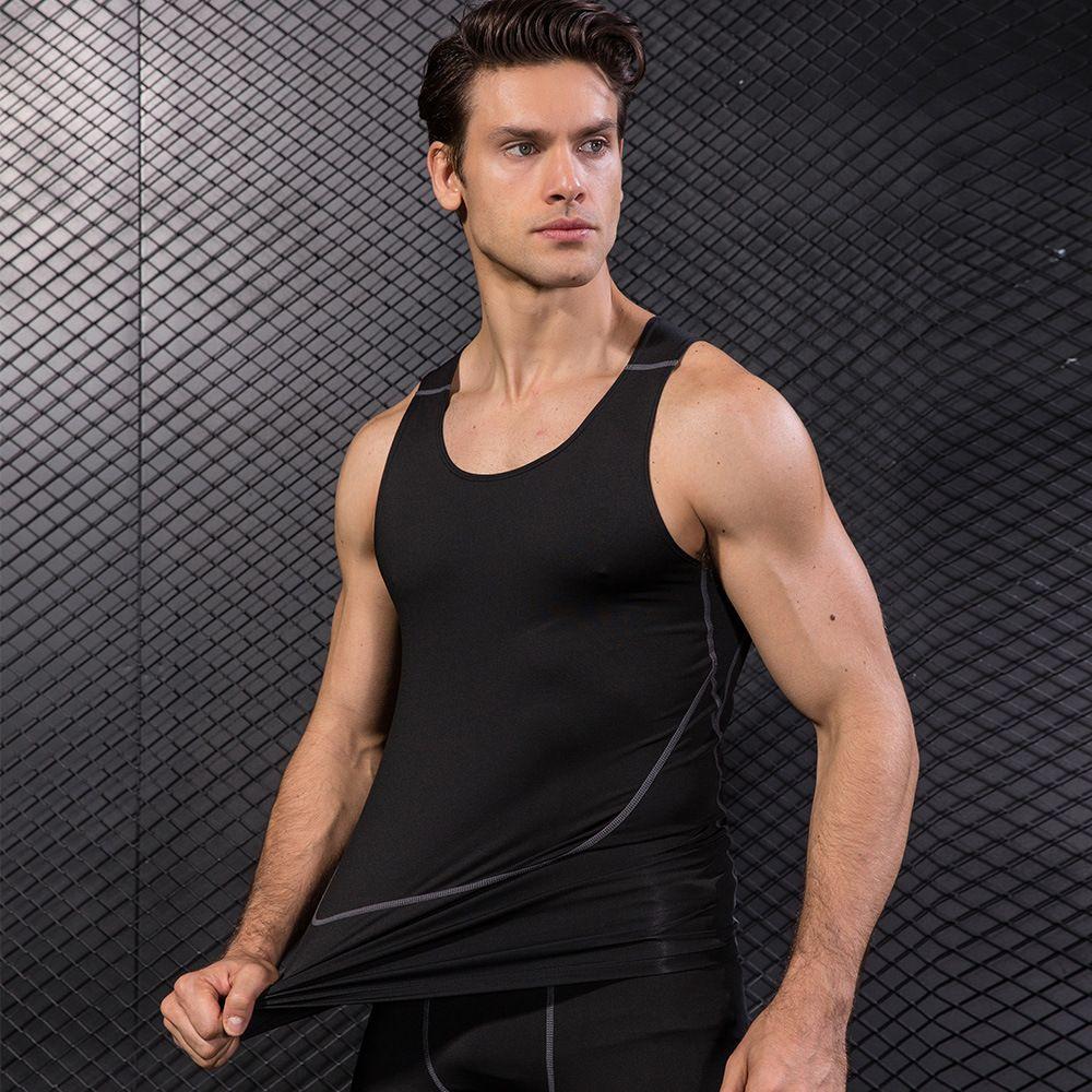 0aa4381b226ca Tank Top Men Bodybuilding Clothes Cotton Tanks Male Muscle Stringer ...