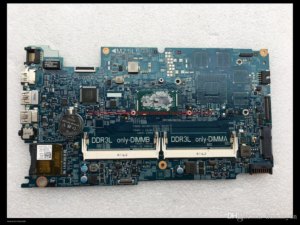 For DELL inpsiron 7537 laptop motherboard DOH50 MB 12311-2 KJ7NX 0K58JN  K58JN with I5-4210U DDR3L integrated graphics