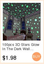 3D Stars Glow In The Dark Wall Stickers Luminous Fluorescent Wall Stickers For Kids Baby Room Bedroom Ceiling Home Decor