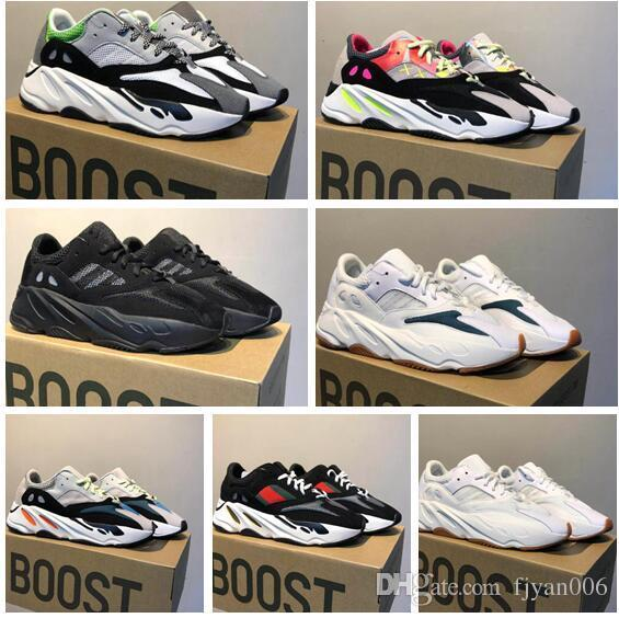 5dcb78c0ad99c 2017 High Quality Wave Runner 700 Real Boost Womens Mens Running Shoes  Design By Kanye West 700s Sneakers Size 36 46 Wholesale Shoes Cool Shoes  From ...