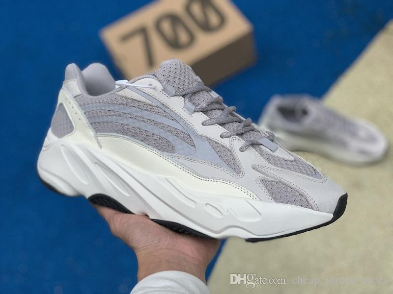 3284e3a18818b Designer 700 Wave Runner Running Shoes For Men Women Static 3M Reflective  Mauve Multi Solid Grey Mens Trainers Sports Sneakers On Sale Best Running  Shoes ...
