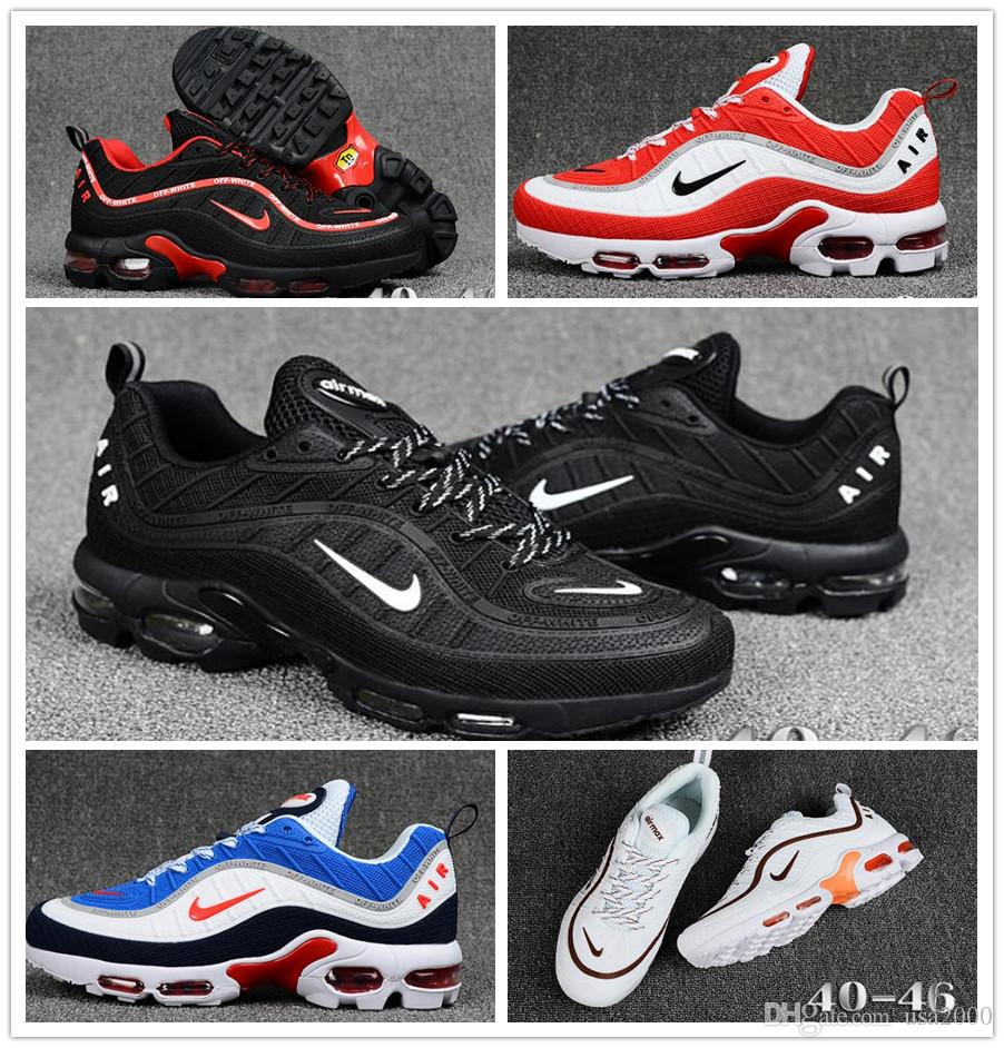 on sale d0675 86eff Nike Air Max TN Running Shoes max 97 man outdoor run sports shoe air tn 97s  KPU Walking Sneakers size 40-45
