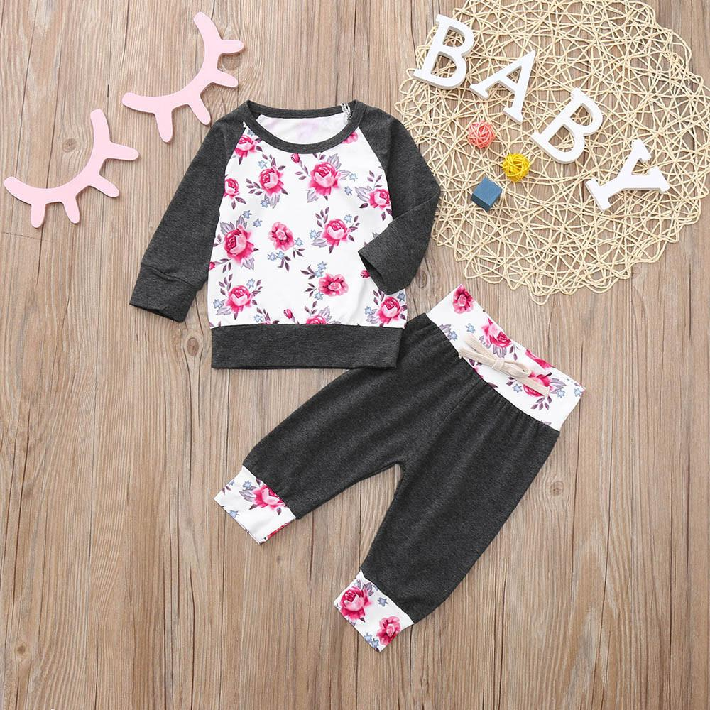 af9bd4405 2019 Good Quality Kids Clothes Set Baby Christmas Clothing Top+Pants ...