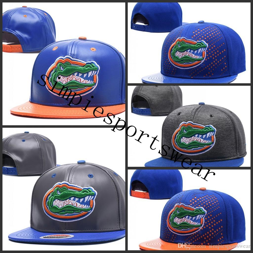super popular b4410 50a06 2019 NCAA Florida Gators Snapback Caps Black Red Grey Royal Blue White Gold Florida  Gators Knit Hat Beanies Caps One Size Fit All From Simpiesportswear, ...