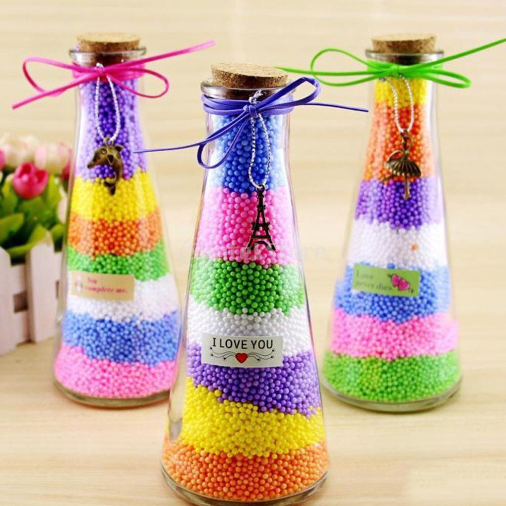 1 Pack Colored Styrofoam Balls Small Polystyrene Foam Balls