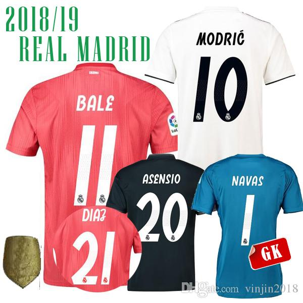 18 19 THIRD AWAY Real Madrid DIAZ 21 CHAMPIONS CLUB Soccer Jerseys Long  Sleeve ASENSIO BLAE AWAY BENZEMA ISCO WOMEN HOME MARIANO 7 JERSEY UK 2019  From ... c5fbd2169
