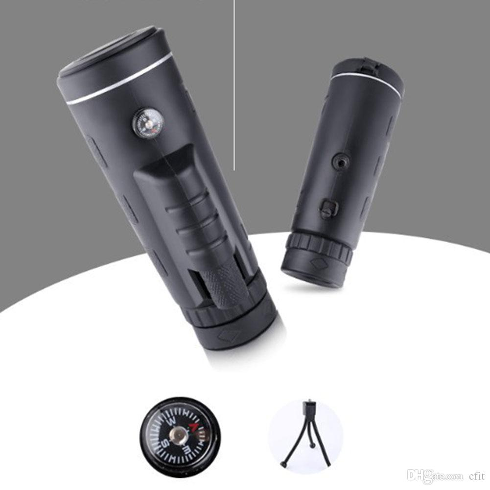 Traveling Sightseeing Adults Fishing Outdoor Camera Camping Hiking With Tripod Zoom Lens HD Monocular Telescope Set Phone Clip