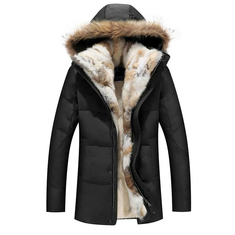 012a35a5dc55d Women Coat Down Jacket Clothes 2018 Winter Thick Hooded Warm Fur Collar Female  Outerwear Couple Clothing Plus Size 5XL Online with  147.74 Piece on  Winen s ...