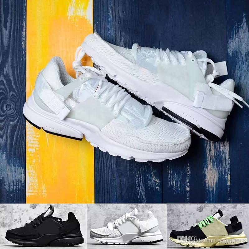 0e0b0900821 2019 best quality fashion Prestos 2.0 Men Women Running Shoes black Cream  white yellow casual Sports Breathable walking jogging Sneakers