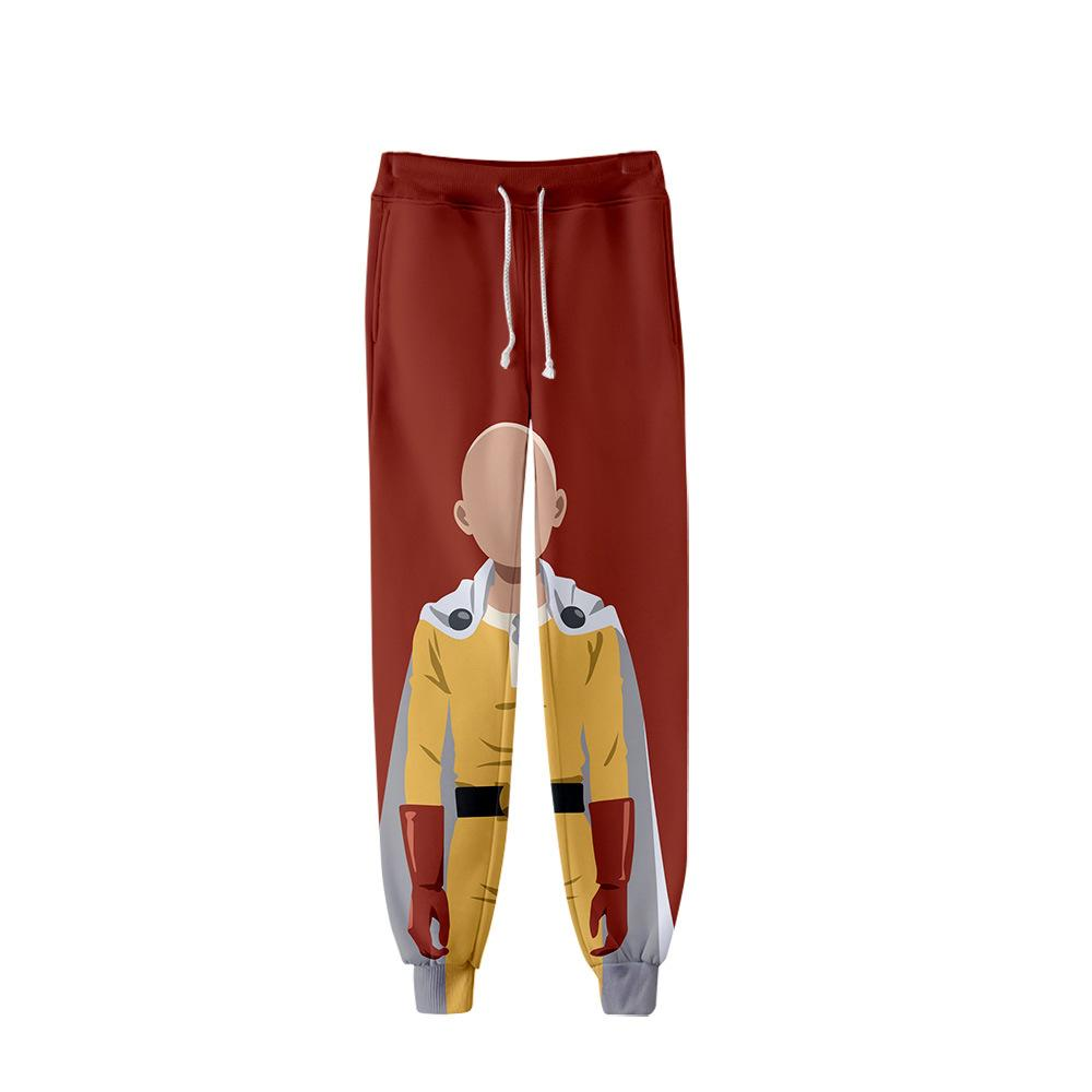 One Punch Man Season 2 3D Print Adult Trousers Hundred Take Unisex Hip Hop Leisure Trend Personality Jogging Trousers Clothing