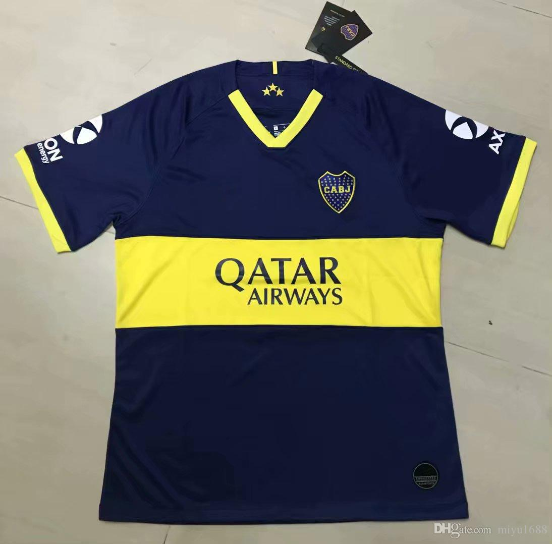 size 40 b3fb5 4c91a 2019 2020 Boca Juniors Trikot 19/20 Heim-Auswärts-Trikot GAGO Soccer Shirts  Cardona Benedetto Pavón Fußball-Top Uniformen im Angebot