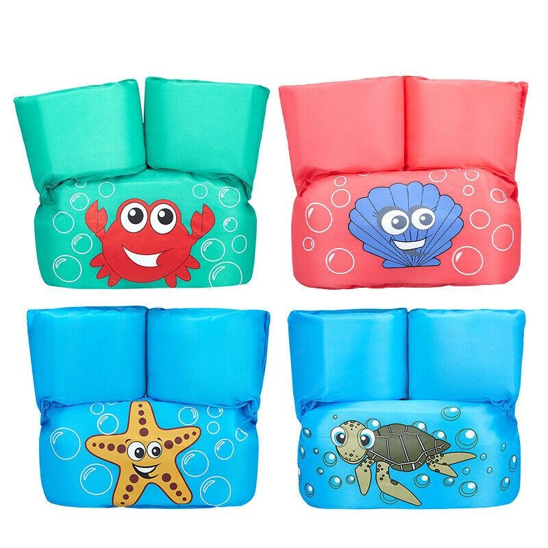 Children Swimming Aid Life Jacket Arm Ring Water Wings Swim For Kids 10-30 Kg