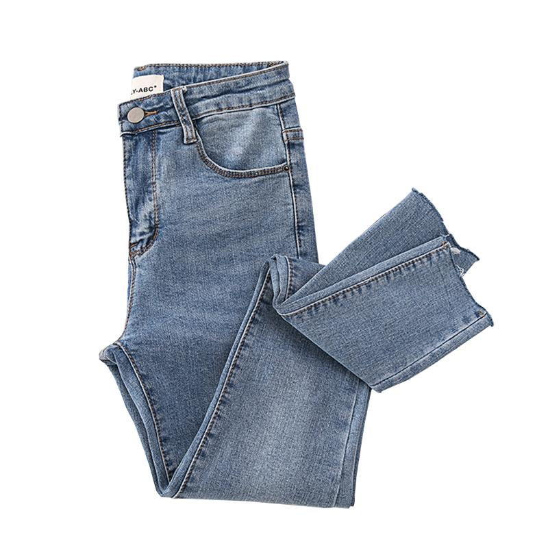 63e8bdad17 Compre Básico Flaco Para Mujer Jeans Pantalones De Lápiz De Tobillo Delgado  Elástico Pantalones De Mezclilla Jean Leggings Mujer Algodón Jeggings Jeans  ...