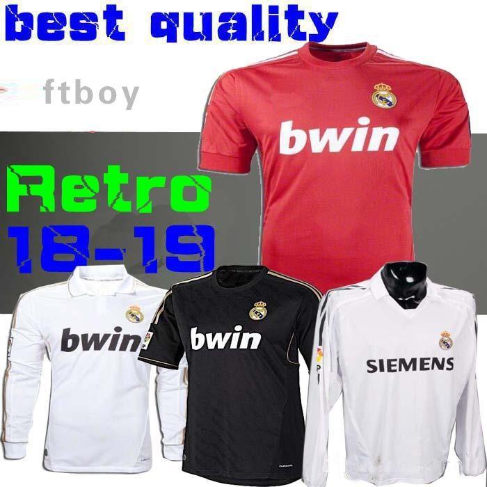 a6947373ab5 Retro 2011 2012 Real Madrid Home Soccer Football Jersey Sergio Ramos ...