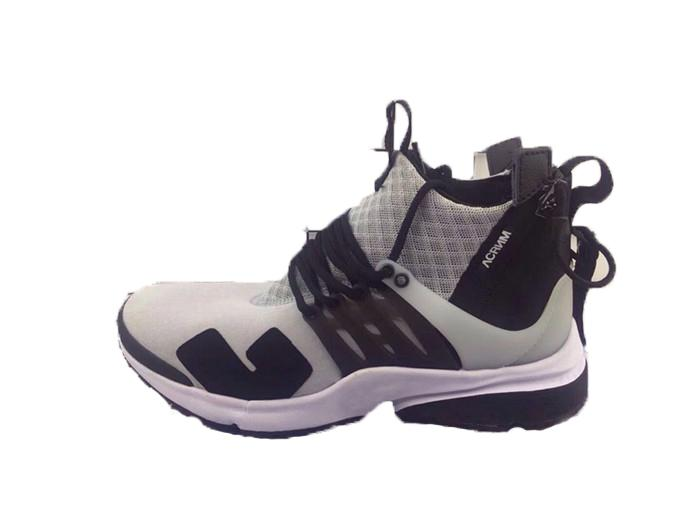 the latest 6667b ec504 High Top Quality Presto Running Shoes Mens Prestos Breathe Black White  Yellow Outdoor Walking Trainers Designer Men Sneakers Size 39-46