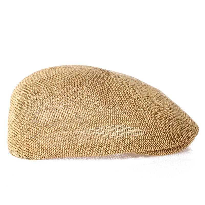 80185b62e5a 2019 Middle And Aged Old Hats Breathable Shade Net Newsboy Caps Fashion  Casual Hat Outdoor Sports Cap Sale From Mantous
