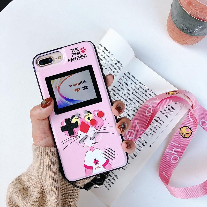 retro teris game phone case for iphone 6 6 6s 7 8 plus 3d video fullretro teris game phone case for iphone 6 6 6s 7 8 plus 3d video full color display gameboy cover for iphone x xs max xr woman personalized cell phone cases