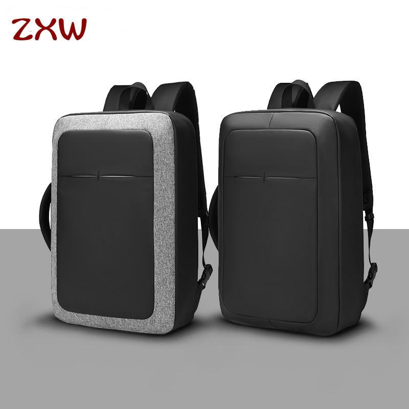 9e1a73f66e Acquista 2019 Fashion Uomo D'affari 17 Laptop Backpack Water Repellent USB  Di Ricarica Multifunzione Zaino Moda Viaggi Zaini Uomini A $73.91 Dal  Zxwshop ...