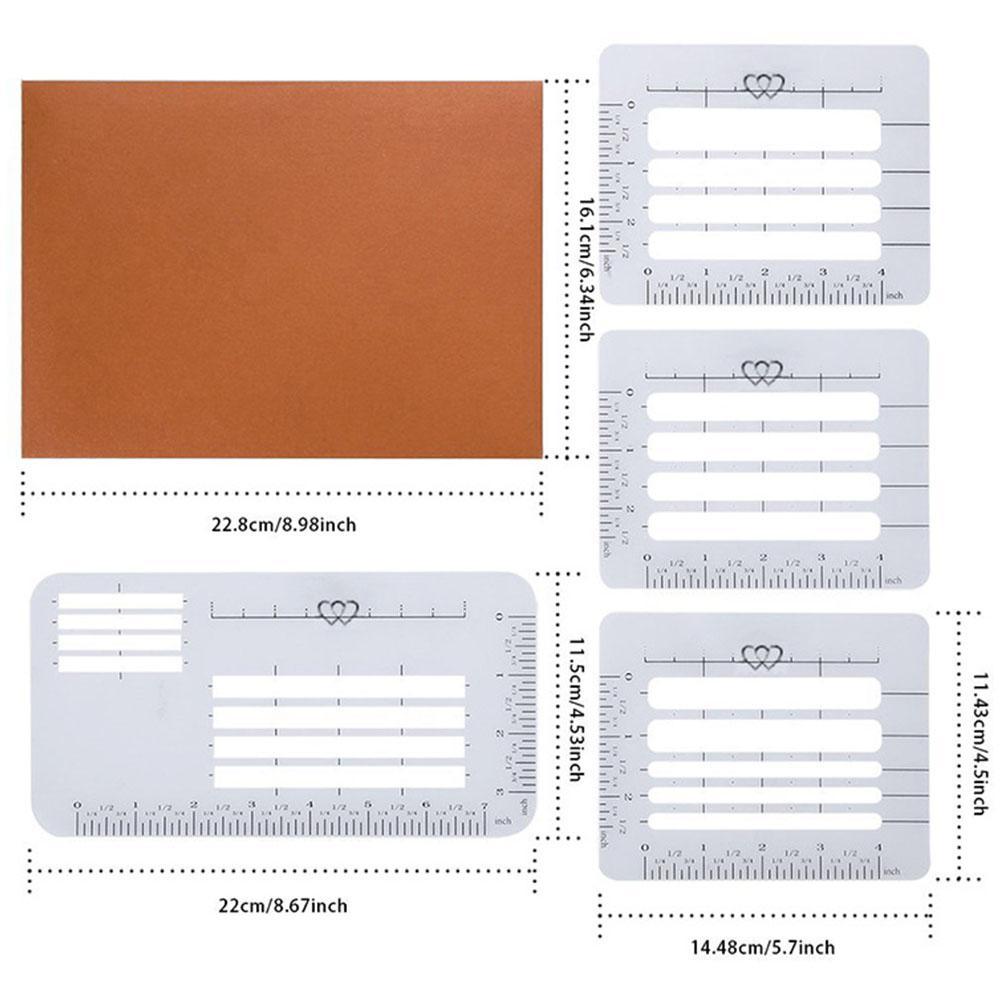 Letter Addressing Stencil.4pcs Envelope Stencil Set Invitation Multi Use Addressing Guide Greeting Card Craft Notebook Letter Postcards Templates Rulers