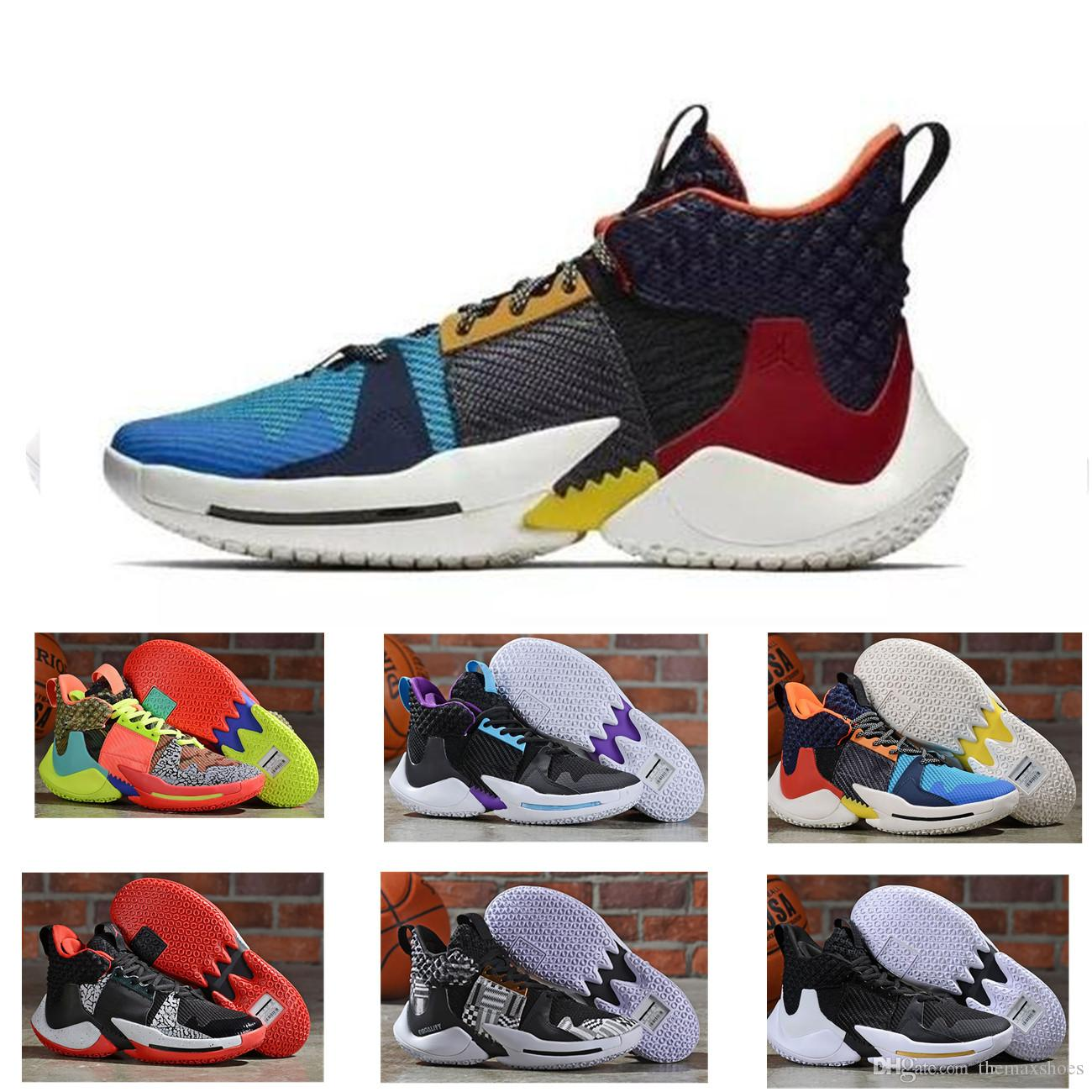 buy popular ff92a 5c27e Why Not Zer0.2 Russell Westbrook 0.3 2.0 II Mirror Image 2019 Sports Basketball  Shoes Two Mens Zero.2 One Sports Athletic Sneakers 40 46 Basketball Mens ...