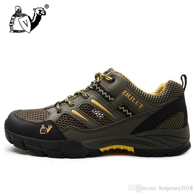 Excursionismo Mujer Montaña Zapatos Malla De Compre Para WEIDH29