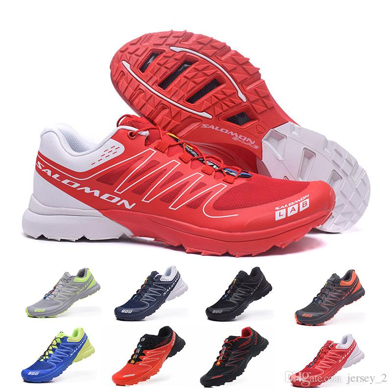 promo code d0589 6ca0c 2019 New Salomon S Lab Sense Ultra Runner Soft Ground Wings Fashion Running  Shoes Cheap Sports Outdoor Jogging Athletic Shoe Woman Running Shoes Mens  ...