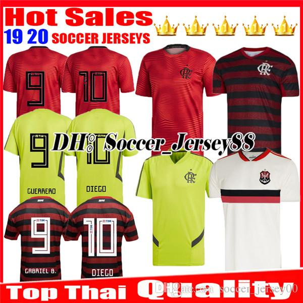 5c599ef4eaa63 2019 2020 Chandal Flamengo Camisetas De Fútbol 19 20 Brasil Flamenco ...
