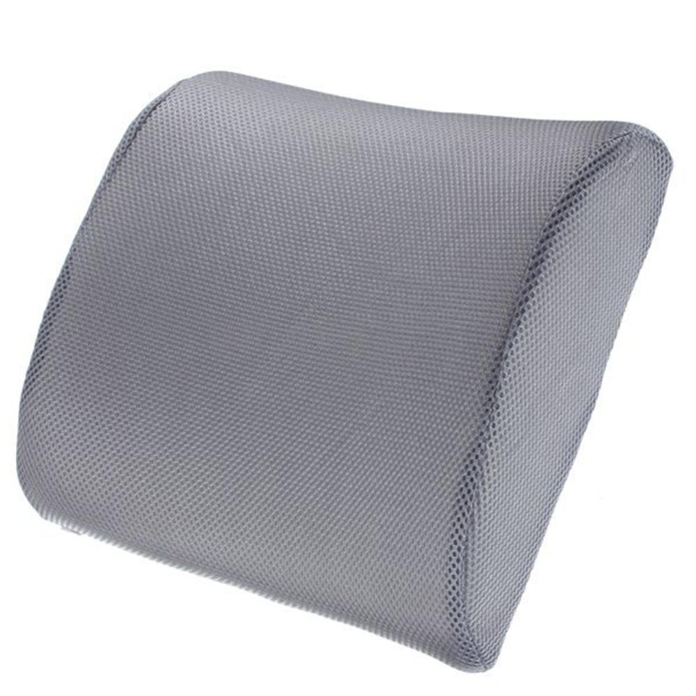 Lumbar back chair pillow memory foam back ache pain cushion car seat office chair orthopedic cushion outdoor chair replacement cushions replacement outdoor