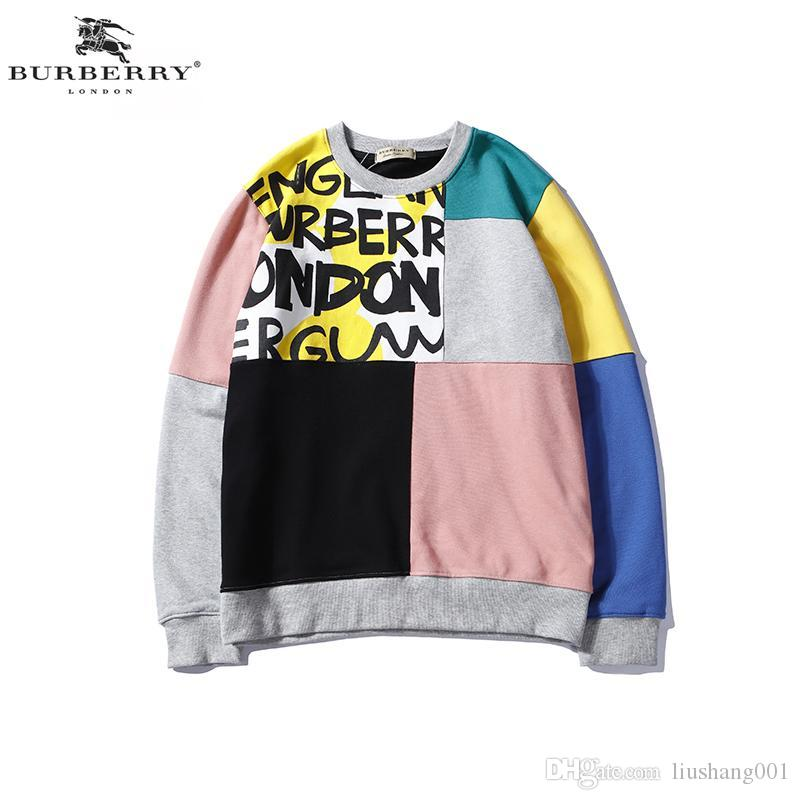 7a5716ab3 2019 MoNclerd European Luxury Official Website Hot Embroidery Designer  Hoodie Thick Loose Sweatshirt Men And Women Couple Sweater StuYss Aaa From  ...