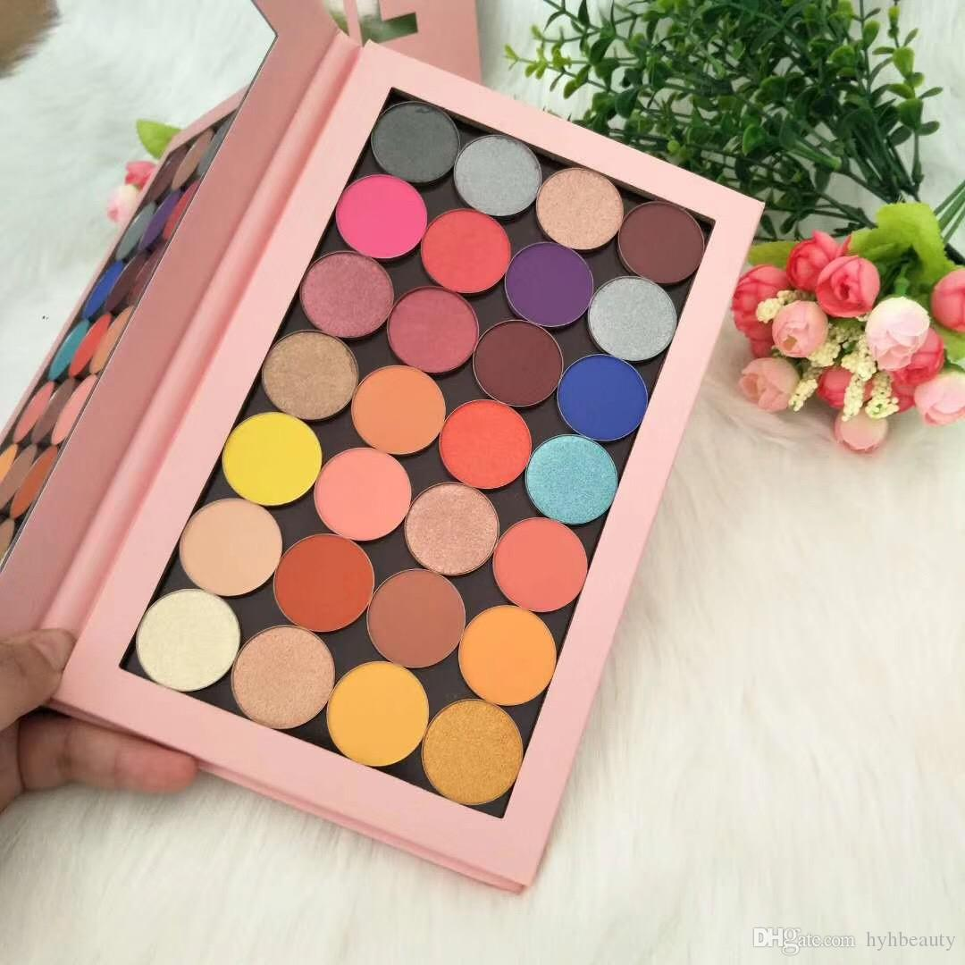 wholesale Price! New Cosmetics Makeup Magnetic 28 colors Eyeshadow Palette Pressed Powder for Eye High Quality Eye Shadows