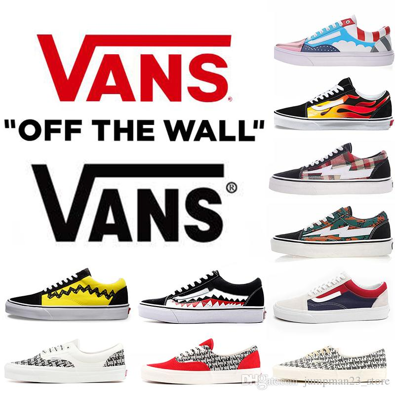 2019 Van Shoes Original Quality Old Skool Yacht Club Men Women Casual Shoes  Skateboard Canvas Sports Mens Trainer Zapatillas Van Running Shoes From ... 7de921baa