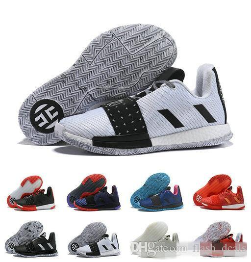 fa585ae0ed11 2019 Designer James Harden 3 Vol.3 Men S Basketball Shoes High Quality  Trainer Sport Sneaker Size 40 46 Latest Shoes Shoes Brands From  Flash deals