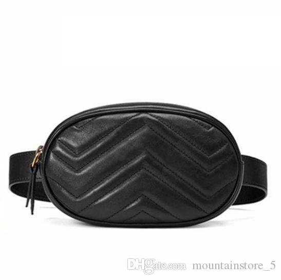 1f7b49760ae 2019 New Bags for Women Pack Waist Bag Women Round Belt Bag Luxury Brand  Leather Chest Handbag Beige New Fashion High Quality (Retail)