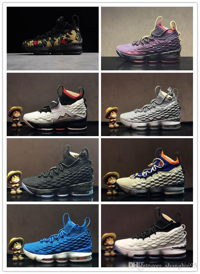 5d7240c37588 2019 2019 Lebron Shoes New Arrival XV LEBRON 15 EQUALITY Black White ...