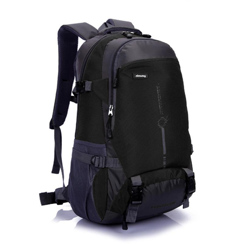 d101205f6c 40L Outdoor Climbing Rucksack Mountaineering Bags Camping Backpack Sports  Bag Hiking Backpacks Nylon Waterproof Molle Bag BD20 Gym Bags For Men Big  Bags ...
