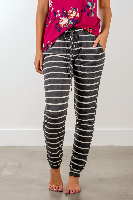 2017 سروال مقلم المرأة السامية الخصر بانت طويل بنطلون السيدات الملابس الداخلية منزوع عادية اقتصاص طول بنطلون طويل