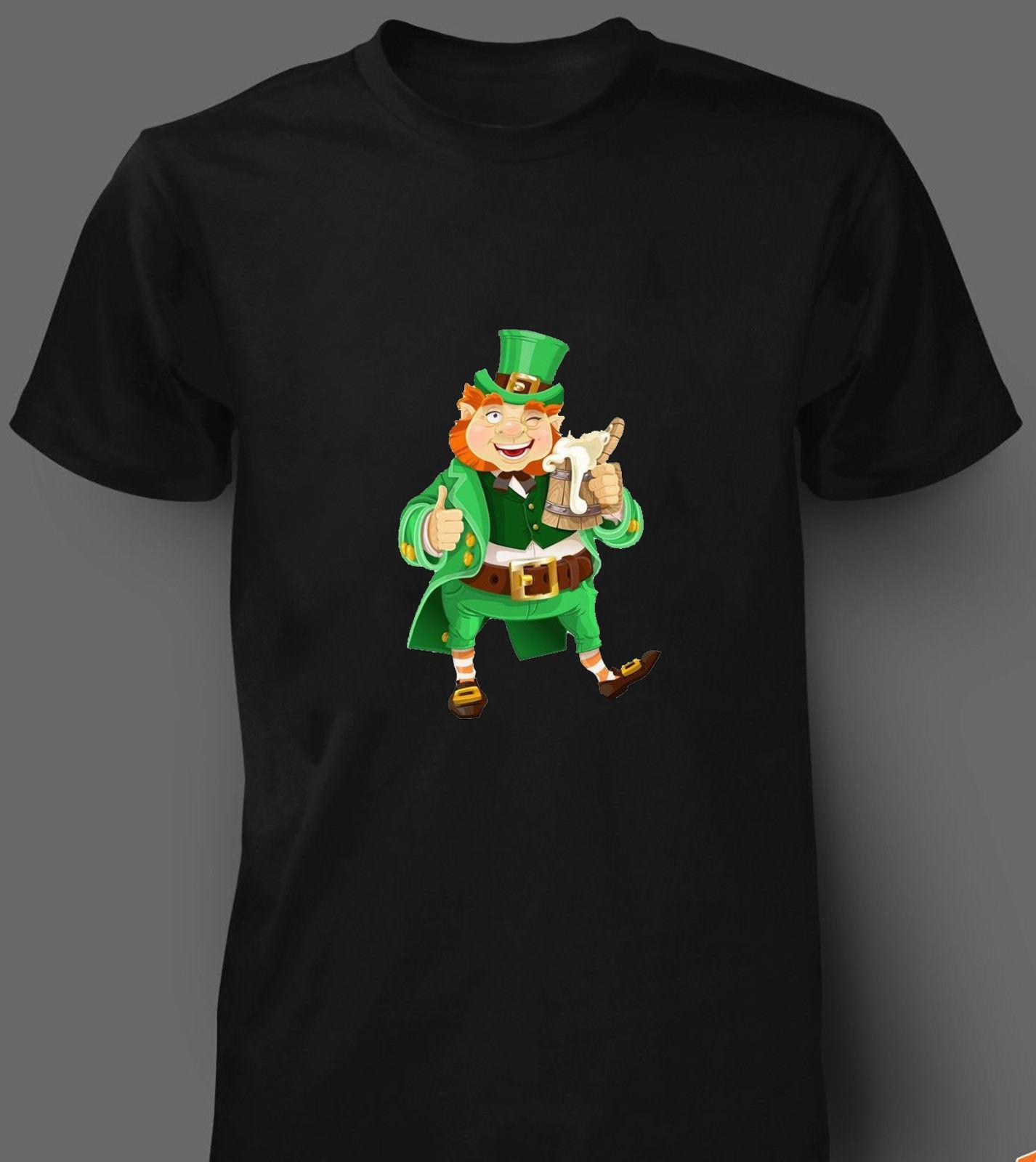 8621c028f St Patricks Day T Shirt Leprechaun Ireland Shamrock Paddys Day Men Women  Kids Funny Unisex Casual Tshirt Top Crazy T Shirts Online Cool Looking T  Shirts ...