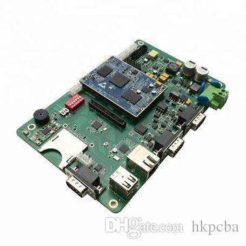 SMD LED PCB Board, PCB Assembly, LED Strip Light with Connector Assembled  in Shenzhen
