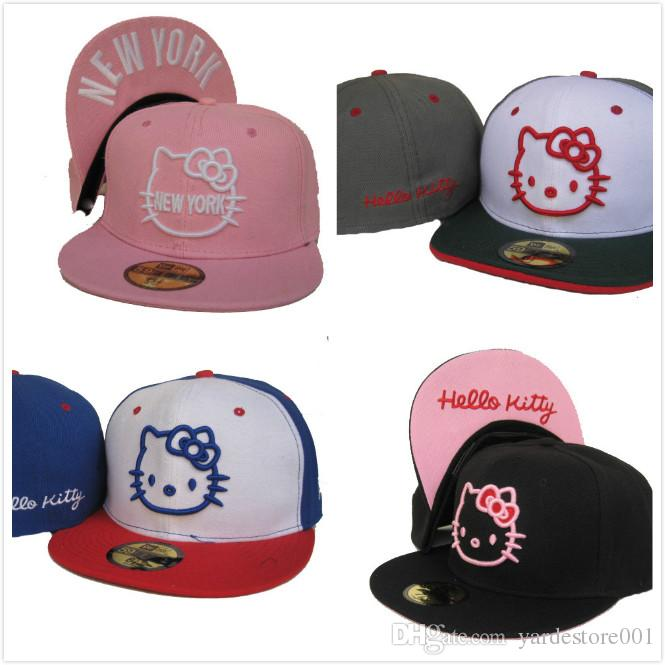 3ed4e25085fd9 Hot Sale New Fashion Luxury Brand Designer Women Men Ball Hats Embroidery  Print Cute Cat Kids Baseball Cap Sport Snapback Unisex Ball Caps Cap Hat  Flat Caps ...