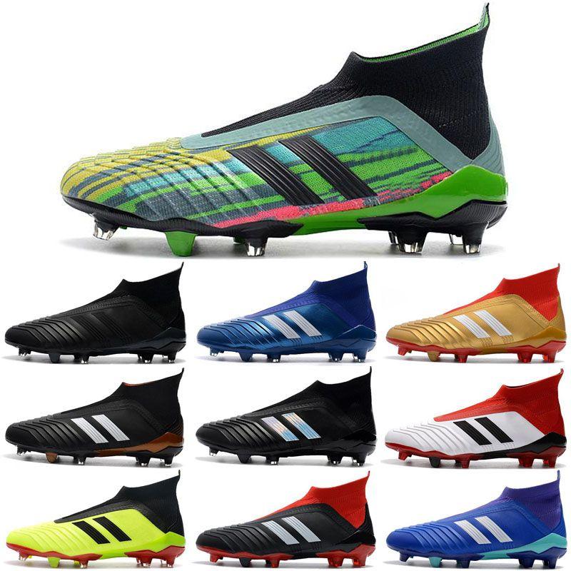f22801b8a943 2018 Predator 18+ Soccer Cleats Firm Ground Cleats Mens Football ...