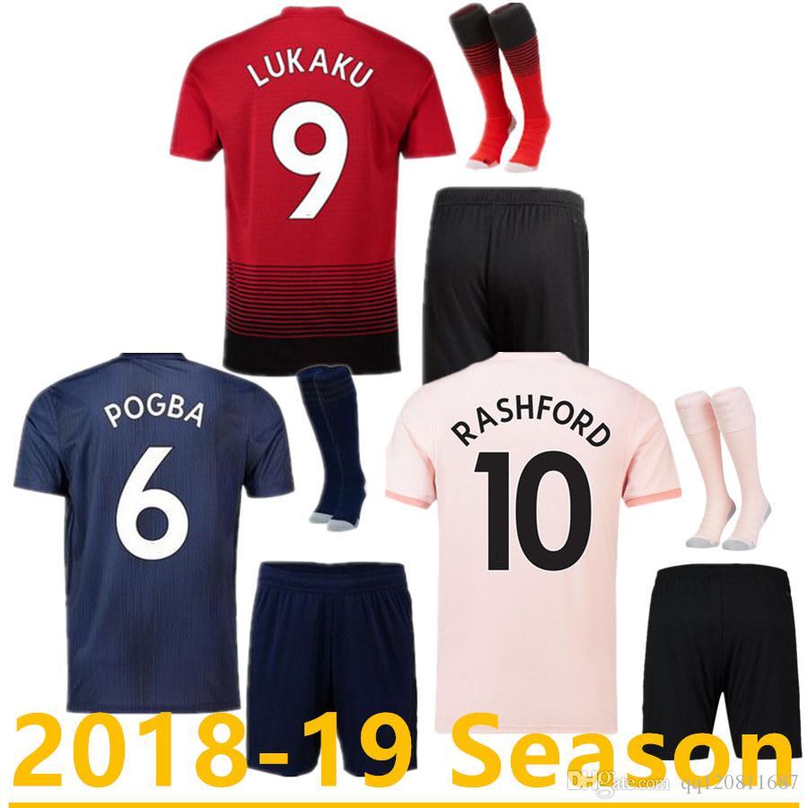 ef4bb10f52e 2019 Thailand Kits POGBA ALEXIS Soccer Jersey 2019 LUKAKU RASHFORD Football  United UTD Jersey 18 19 Adult Kit From Qq120811687, $17.26 | DHgate.Com