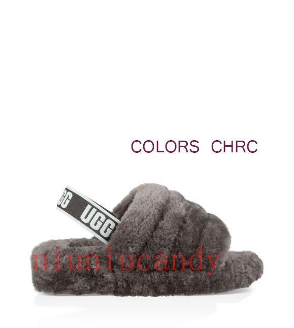 2019 zapatillas de mujer peludas australia fluff Yeah slide diseñador zapatos casuales botas diseñador de moda sandalias de mujer zapatillas de piel