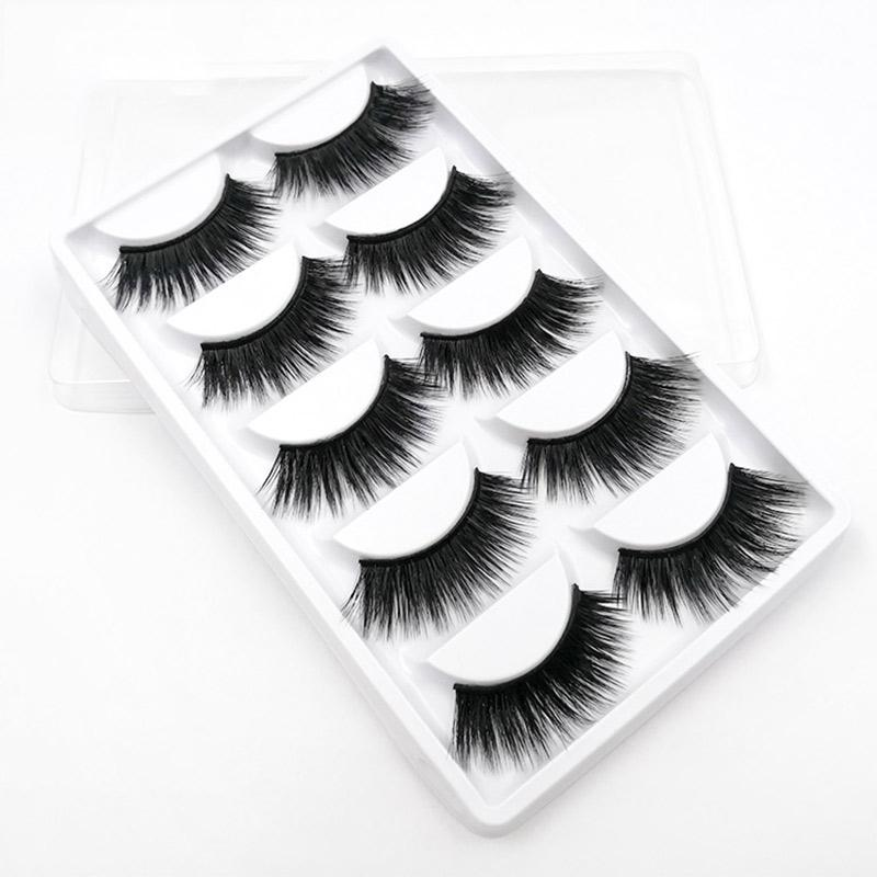 0f5b2263abf Iflovedekd Natural Soft Thick Fake Eye Lashes False Eyelashes Handmade  Cruelty Free 3D False Eyelashes D01 Eyelash Extensions Nyc Eyelash  Extentions From ...