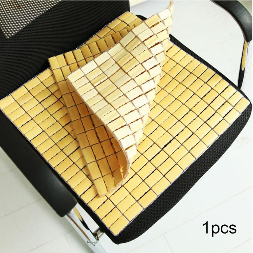 Bamboo Mat Spring Summer Mat Car Seat Pad Quartet Cool Pad Office Chair Home House Sofa Car Seat Cushion Anti Slip