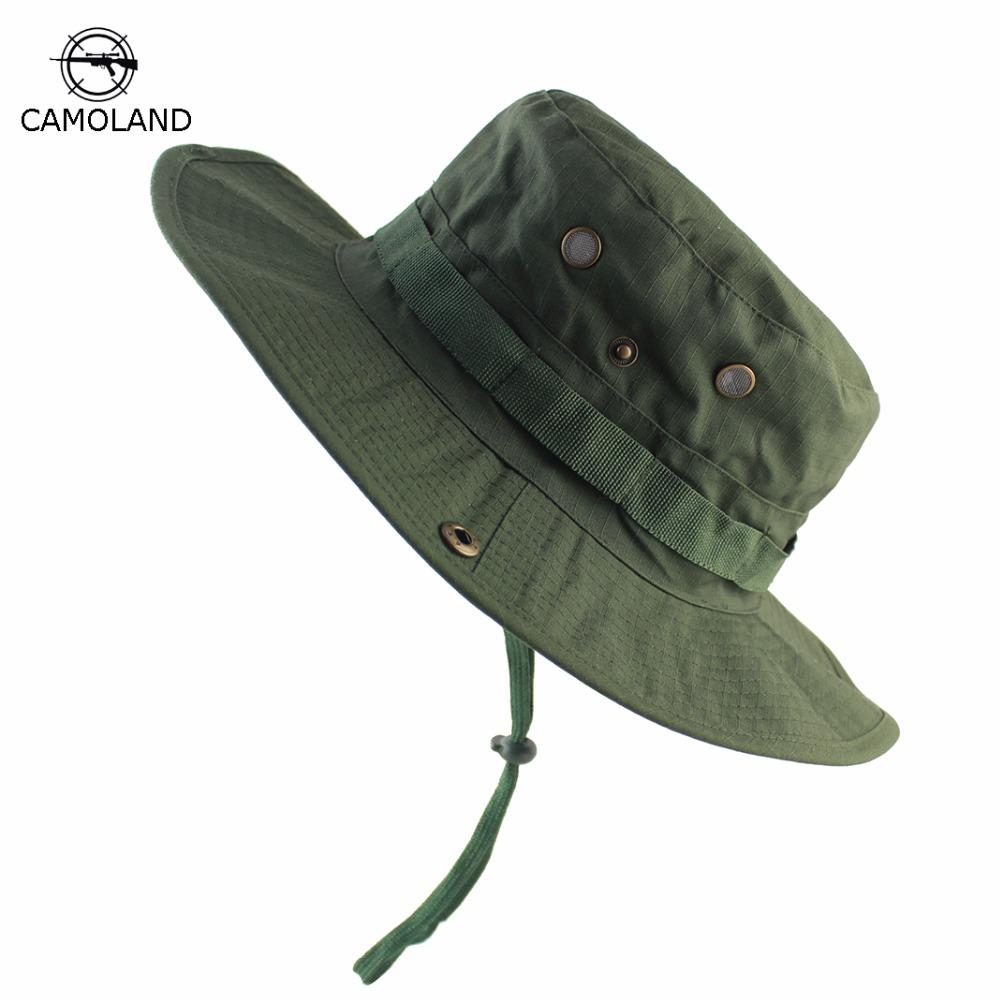 df6379cc61af7 Men Women Summer Bucket Hats Outdoor Fishing Solid Color Sun Hat UV  Protection Panama Hat Men Hiking Sombrero Boonie Hat Women Mens Caps Crazy  Hats From ...